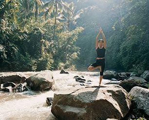 Yoga and Ayurveda  @Como Shambhala #Bali