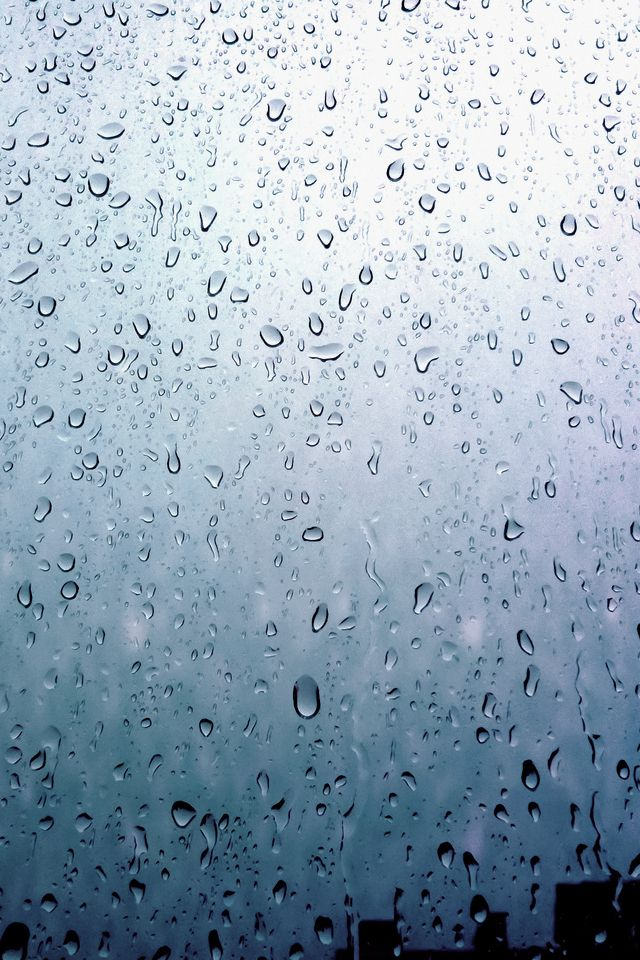 droplets on a window...