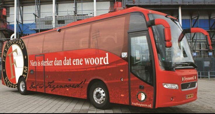 de mooiste Spelersbus van nederland