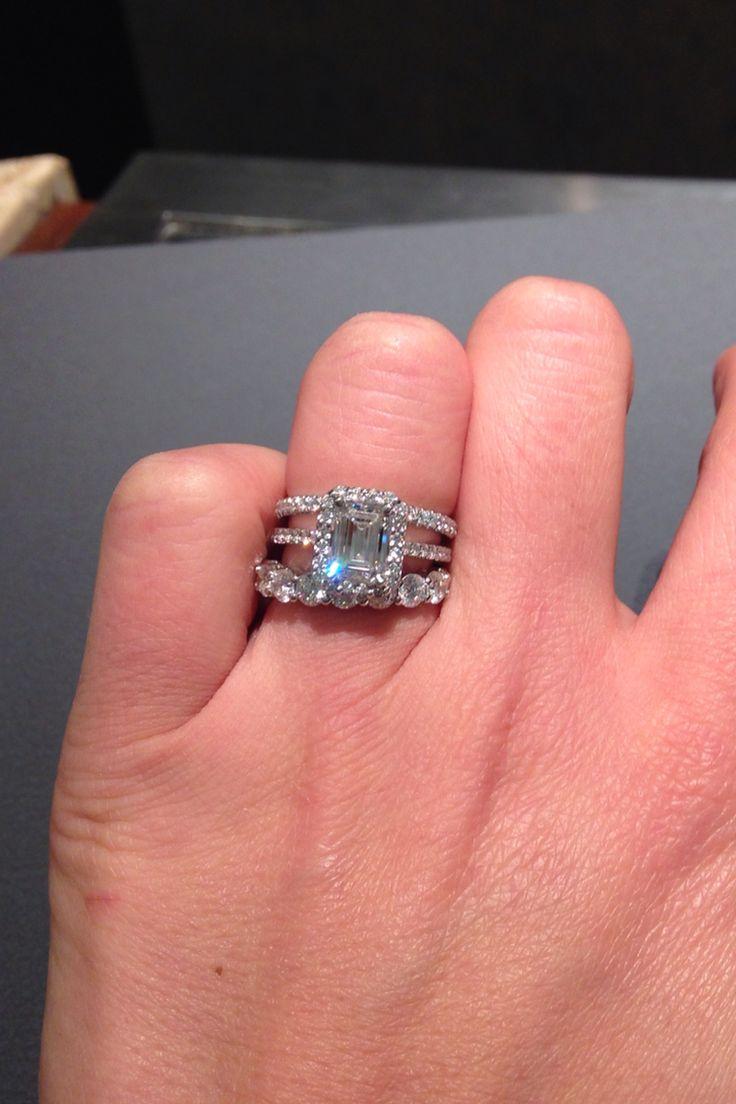 Tiffany Soleste Emerald Cut Engagement Ring Tiffany