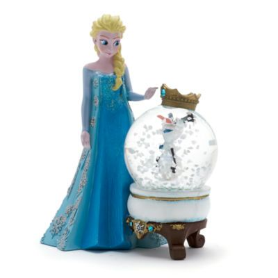It looks as Olaf has become a king on this Frozen snow globe! He appears inside…
