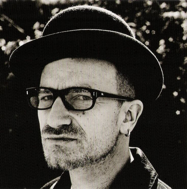 Bono by Anton Corbijn. Meu casal preferido por suas lutas, causas, responsabilidade social, coragem.