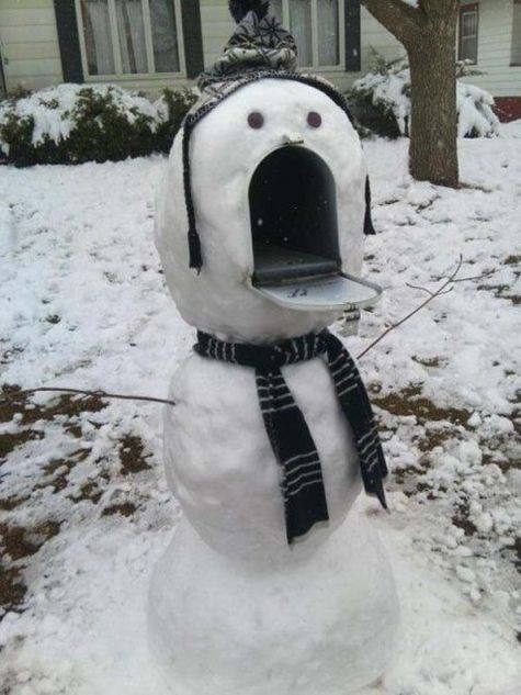 Funny and amazing snowmen – 30 Pics