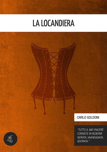 La Locandiera [Literary Classics Series] - Carlo Goldoni (author), Gabriele Ciufo (cover)