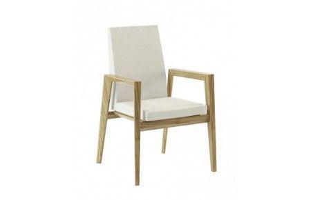 Modern - stol med armstöd