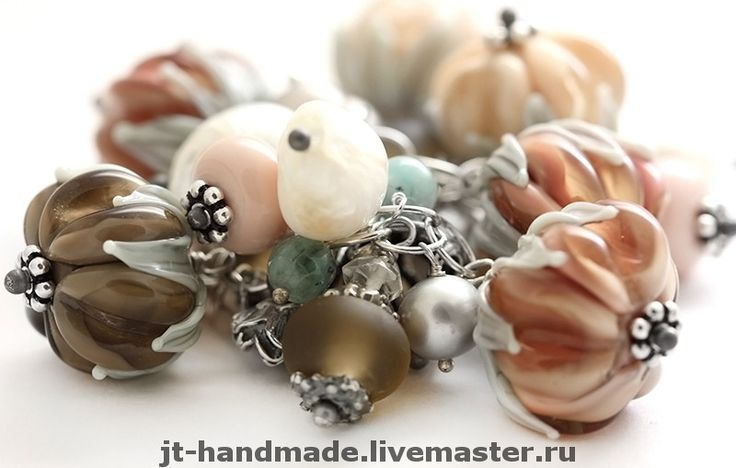 Бусинки, колечки (18 размер), браслетики, сережки от Юли Трубицыной. http://www.livemaster.ru/jt-handmade