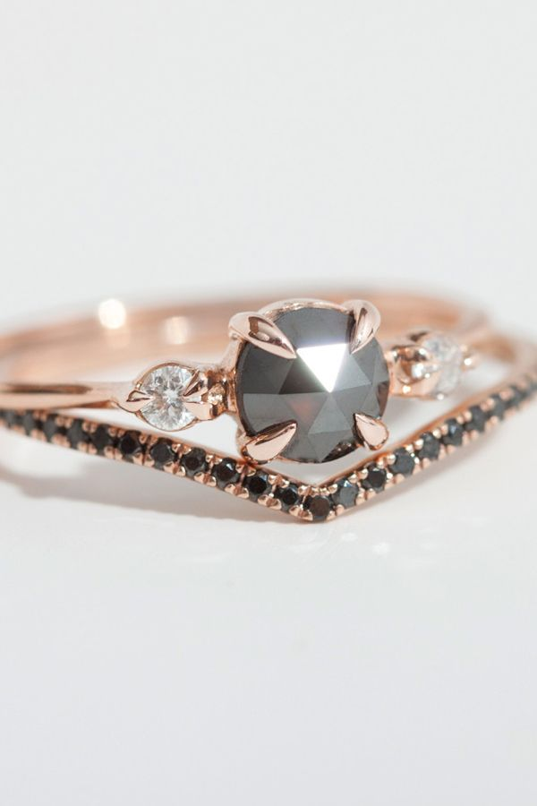 Black Diamond Ring--I like this idea but could be saucier