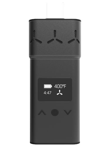 The AirVape XS Vaporizer is one of the most sleek yet discreet weed vaporizer out on the market right, especially for its small size.