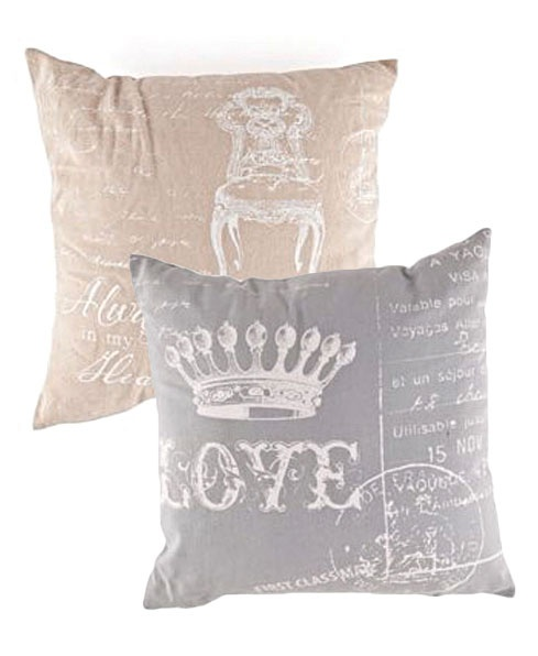 Scatter cushions R59,99 each at Mr Price Home  http://www.goodhousekeeping.co.za/en/2013/05/french-country-style-on-a-budget/