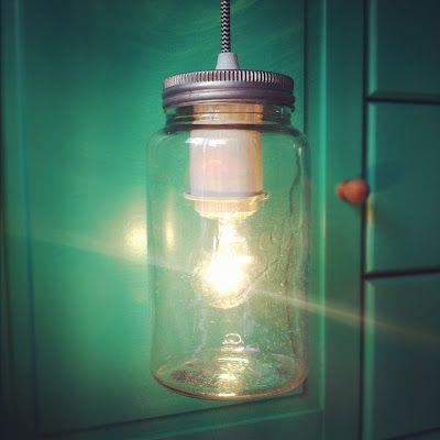Snadder: DIY - Lag lampe av norgesglass