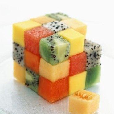 Rubicube de fruits