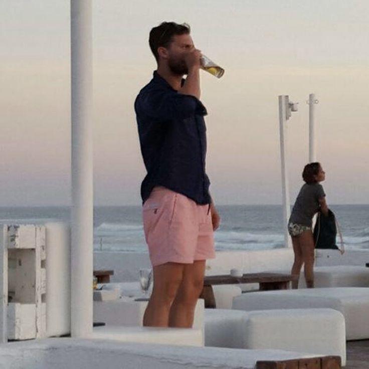 #JamieDornan on Vacation in Ibiza - Trailer Online Scenes Set 2017 - Fifty Shades Darker Movie