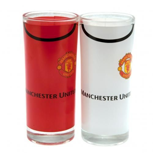 A pair of Manchester United highball glasses, great for mixed drinks. In home and away shirt colours and featuring the club crest. FREE DELIVERY on all of our gifts