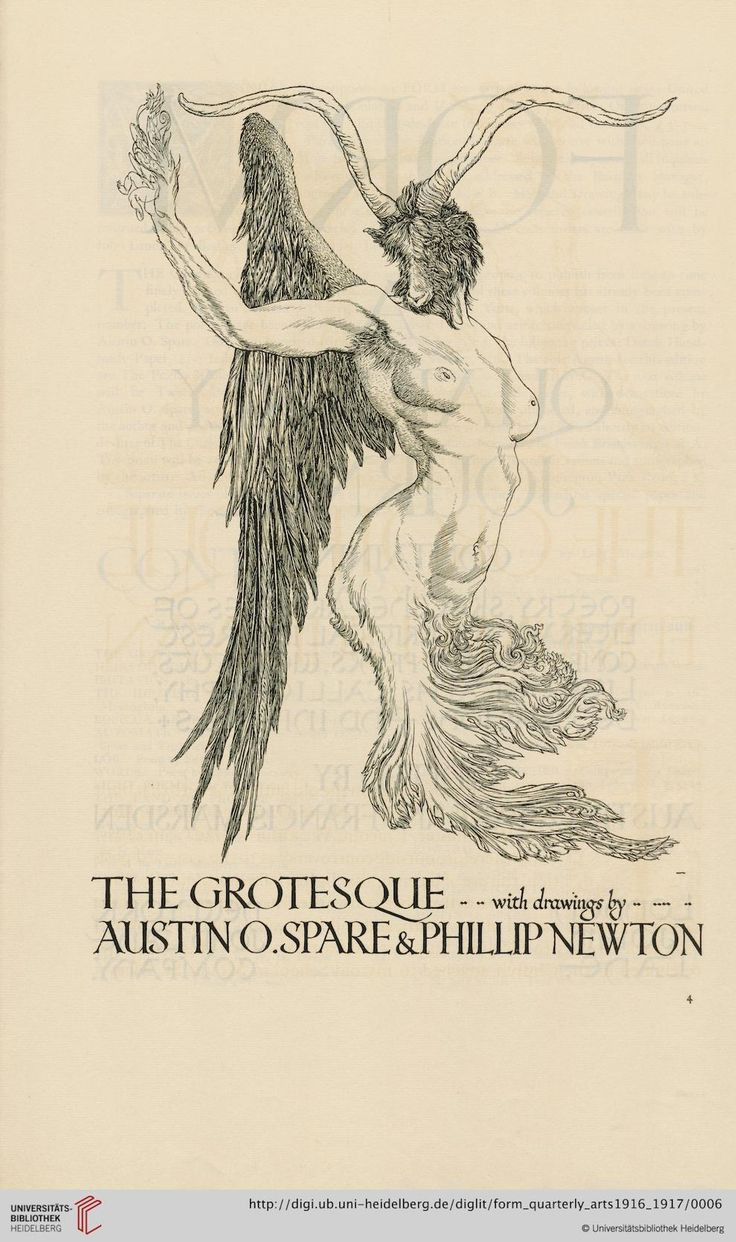 Form: a quarterly of the arts Austin Osman Spare  Heidelberg University