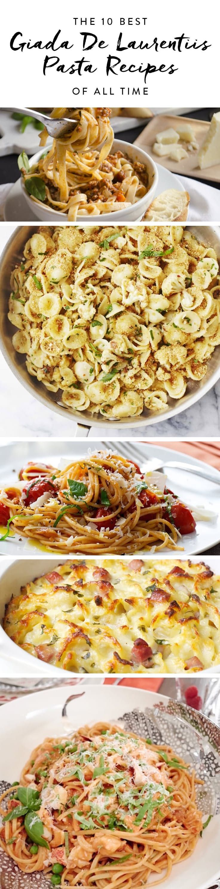 The 10 Best Giada De Laurentiis Pasta Recipes of All Time  via @PureWow