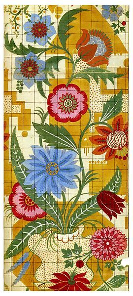 James Leman, Design for a woven silk textile  1706-1707  Clare Brown, Silk Designs of the Eighteenth Century from the Victoria and Albert Museum, Thams and Hudson, 1996, ISBN 0500278806: James Of Arci, James D'Arcy, Silk Textiles, Silk Design, James Leman, Leman Design, Floral Patter, Textile Design, Silk Jpg