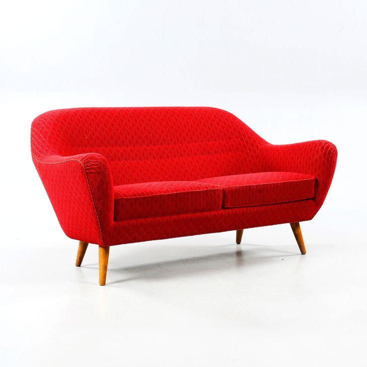 Sofa model 'Chile'designed by Svante Skogh for Klings Möbler AB in Sweden, 1953.Upholstered ...