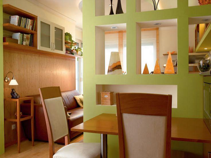 Kis színes | Térelválasztó fal garzonban is építhető | Életszépítők