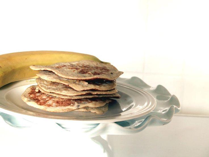 Arabafelice in cucina!: Pancakes furbissimi alla banana, in due ingredienti!