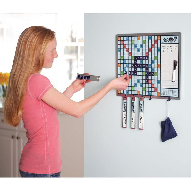 The Walk By Scrabble Board - No peeking at my tiles :) @cw1005 your family needs this!! hahah
