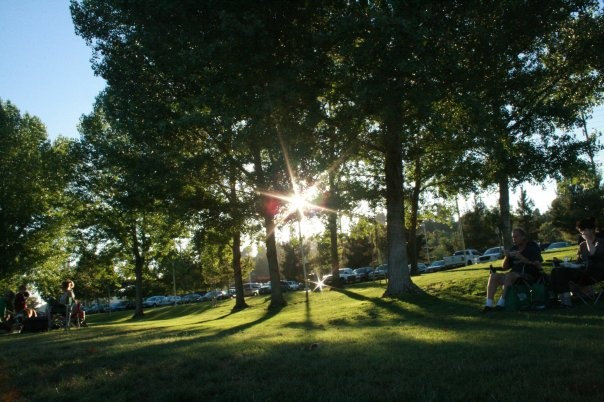 Central Park, Santa Clarita. Great for Exercise.  Concerts in the park during the summer.