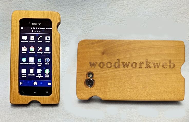 Make a Wood iPhone or Wood Smart Phone Case #iphonecase #woodworking #diy