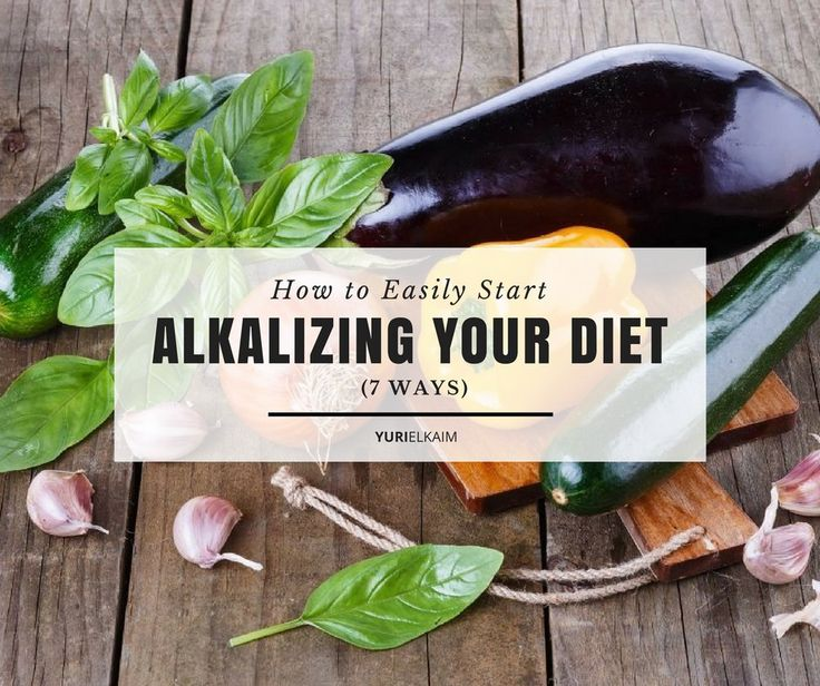 It might sound too good to be true, but eating more alkaline-rich foods (and less acidic ones) is one of the best things you can do to improve your overall health. With that in mind, check out these 7 ways to help you transition to eating more alkaline. | Yuri Elkaim