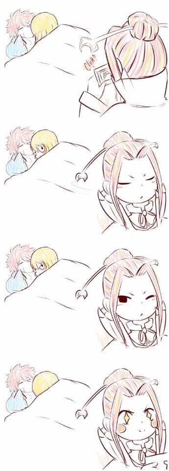 Even Porlyusica loves NaLu XD