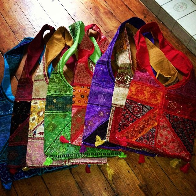 hippy bags in a range of colours reduced to £15!