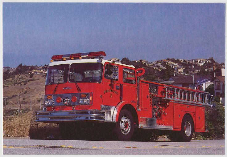 Van Pelt Pumper Truck, Fire Department - San Bruno, California
