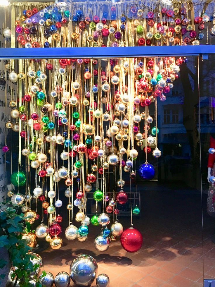 Visual Merchandising inspiration for Christmas window displays in