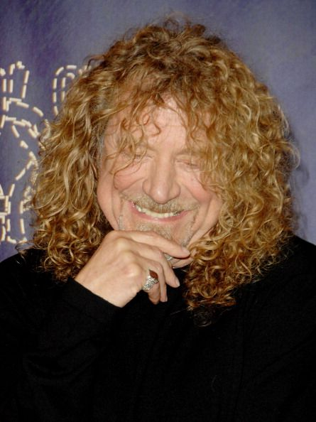 Singer Robert Plant poses in the press room during the 2008 CMT Music Awards at the Curb Events Center at Belmont University on April 14 2008.  Photo © Jon Kopaloff.