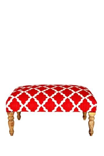 Mimi Moroccan Trellis Bench