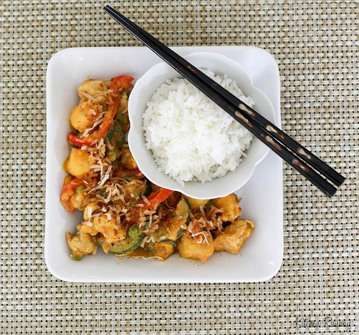 Easy and budget friendly.  I just picked up that Red Curry sauce at Trader Joe's!