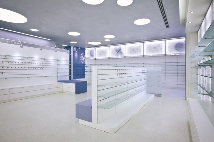 Perissinotti Pharmacy by Alessia Silvestrelli » Retail Design Blog