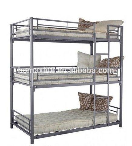 metal bedroom furniture bed frame 3 tier bed triple bunk beds sale buy triple bunk beds saletriple bunk beds metal bunk beds