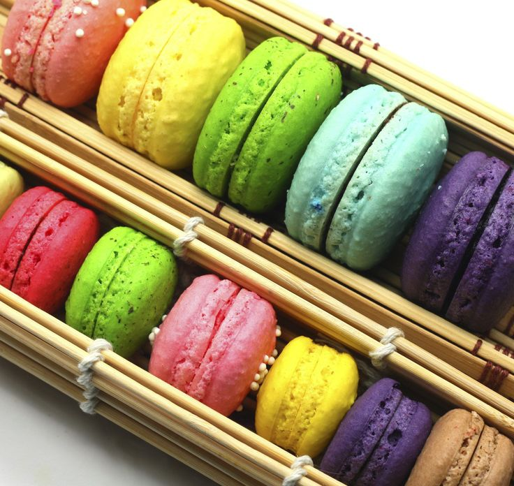 Multi-colored Macaroons!