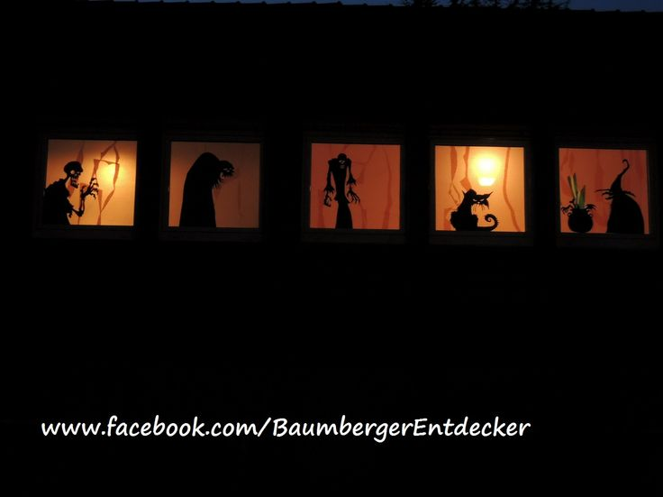 Halloween Fenster  https://www.facebook.com/BaumbergerEntdecker