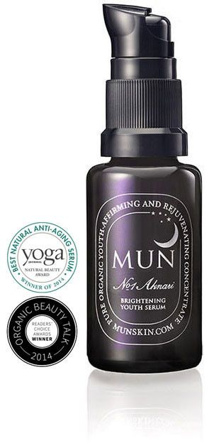 MUN   No.1 Aknari Brightening Youth Serum   Un vero e Proprio Siero della Giovinezza composto da soli 3 ingredienti: Olio di Semi di Fico d'India, Olio di Argan e Olio di Rosa