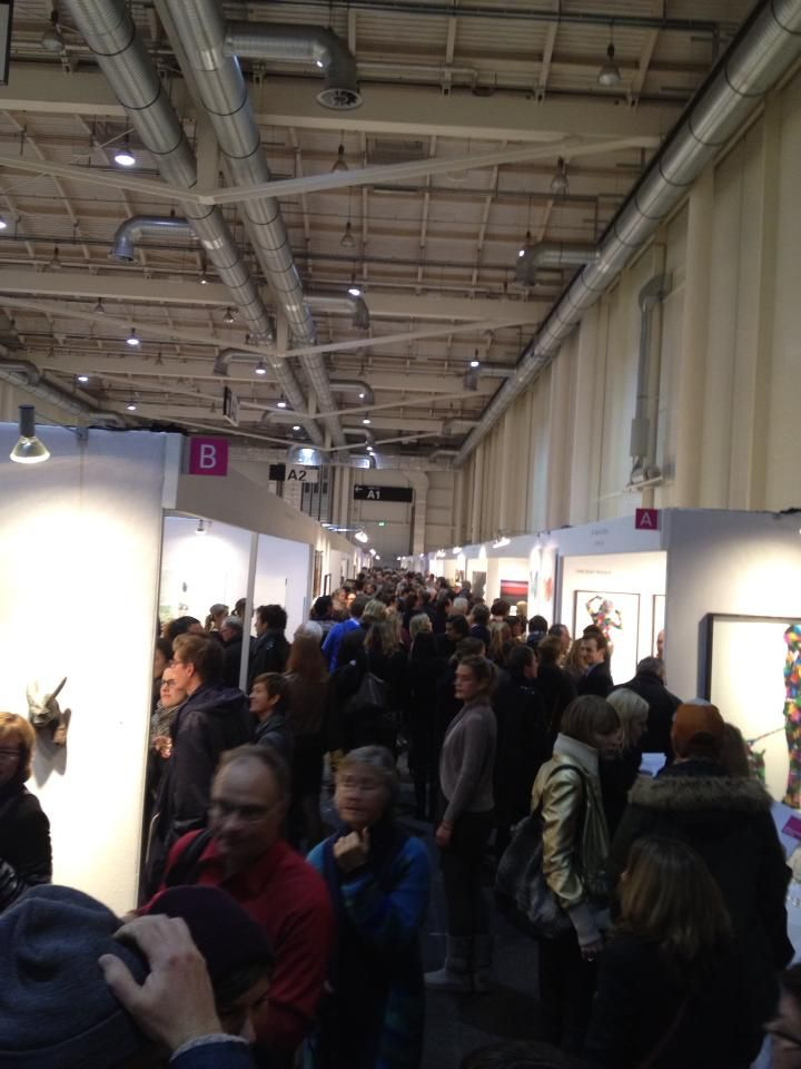 Colorfield Gallery - Soirée du vernissage de l'AAF
