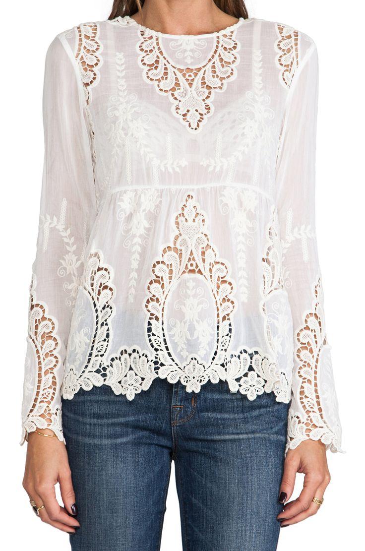 Just lovely! Dolce Vita lace blouse