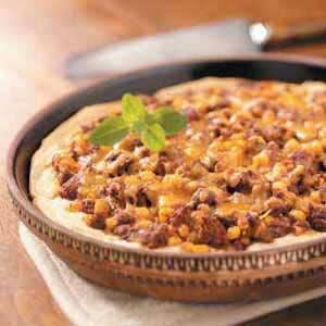 Venison Taco Pie was a hit at our house. Very easy and fast to make too.