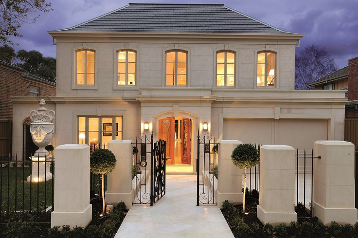 Here's the beautiful #facade of a house we built!  #homedesign #VIC #AUS #Melbourne #Victoria