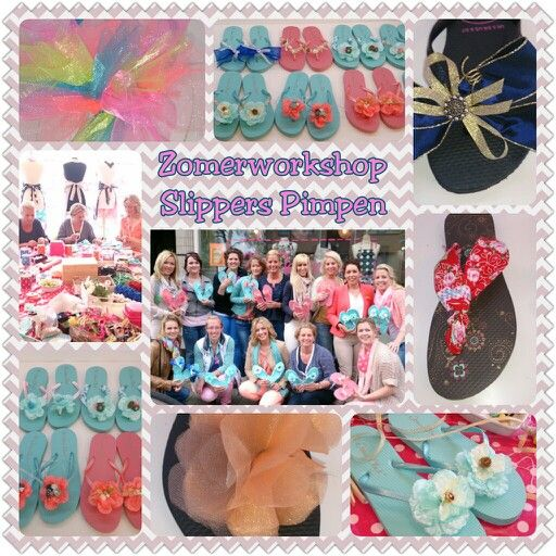 Slippers/ flipflops restyle workshop