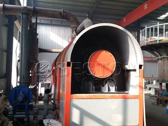 Rice Husk Charcoal Making Machine - Rice Hull Carbonizer