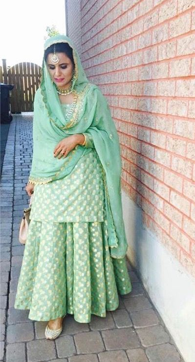 email sajsacouture@gmail.com for this mint green ensemble! ✨