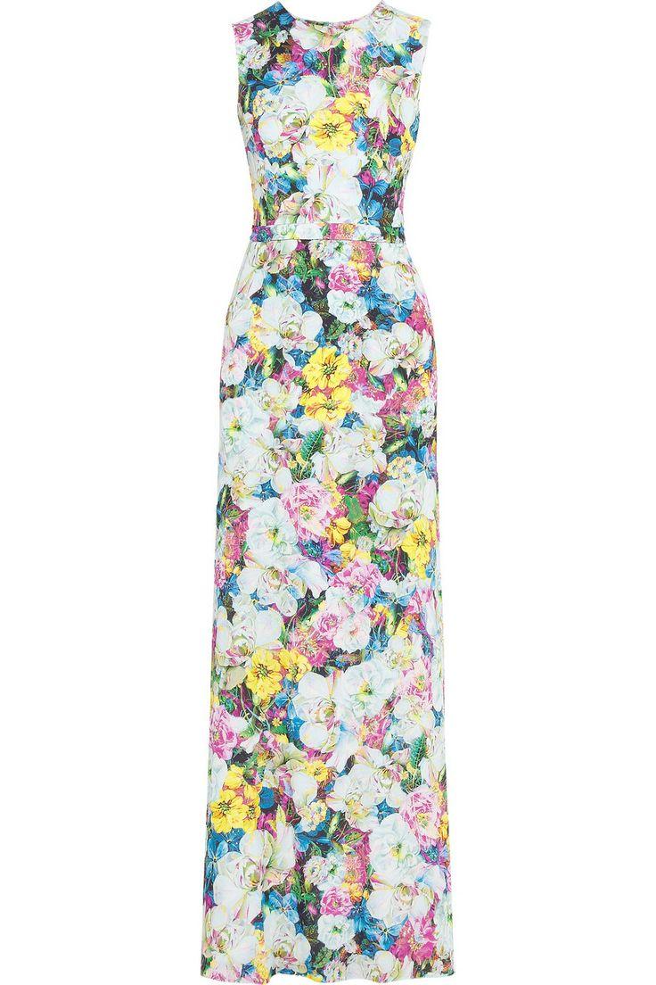 Erdem - Morwenna printed silk-crepe gown