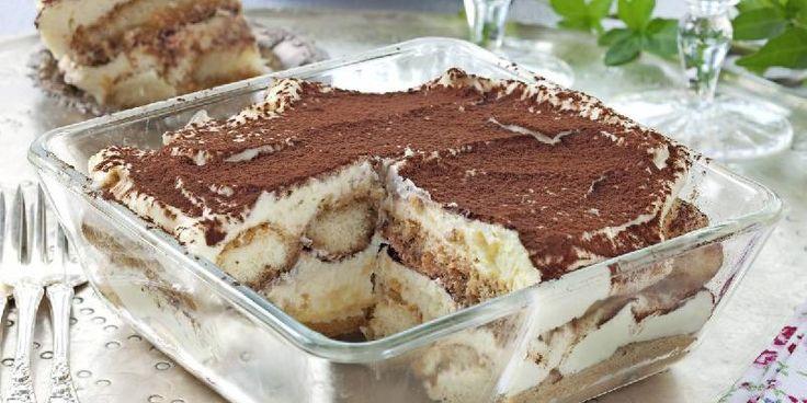 Tiramisu - Nydelig og klassisk, italiensk dessert!