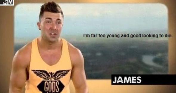 Geordie shore. Geordie shore quote. James.
