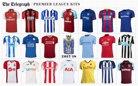 New Premier League kits 2017/18